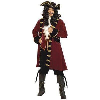 Captain Hook Costume Adult Pirate Halloween Fancy - Captain Hook Costume Adults