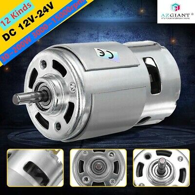 12 Kinds Large Torque High Power 775 Motor Dc 1224v Low Noise 300015000rpm New