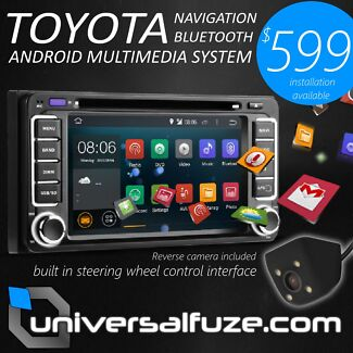 Toyota Bluetooth/Nav Android touchscreen 60Wx4 Scarborough Stirling Area Preview