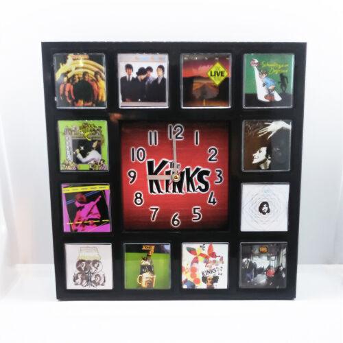 Kinks Rock Band Wall Clock