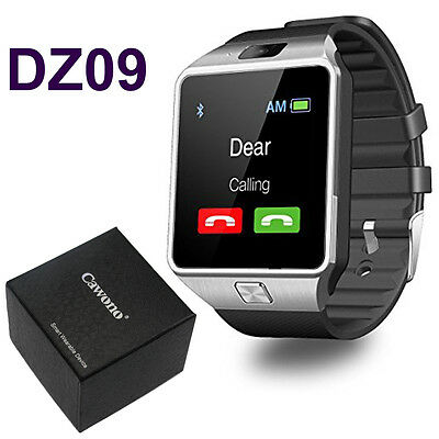 DZ09 Bluetooth Chic Watch Phone + Camera SIM Card For Android IOS Phones iPhone