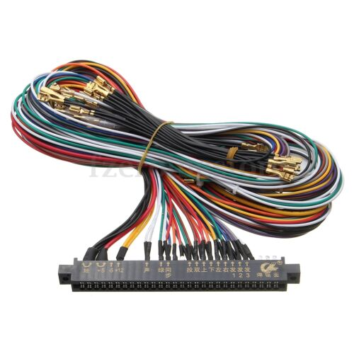 JAMMA Plus Wiring Harness Multicade 60 in 1 Arcade Game Cabinet Wire Labels Free