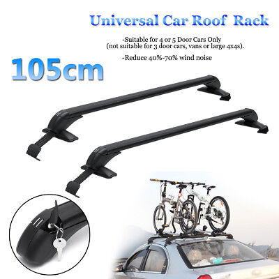 Adjustable 41.3inch Universal Car Suv Top Roof Cross Bar Luggage Carrier Rack