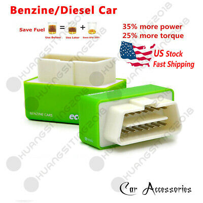 Green For Chevy Tahoe 96-17 5.3L 6L V8 Best Performance Race Chip Save