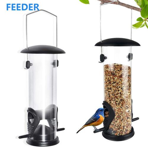 Hanging Wild Bird Feeder Squirrel Proof Seed Food Yard Garden Outdoor Decoration