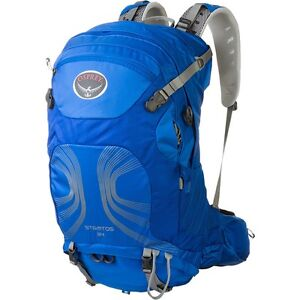 New with tags Osprey Stratos 34 backpacking backpack