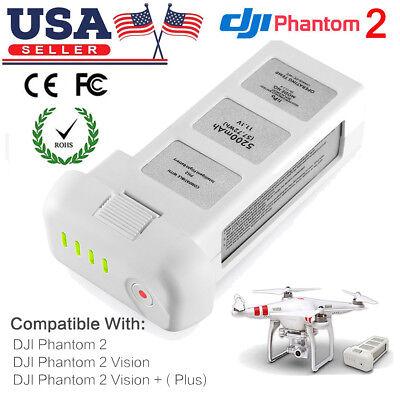 11.1V 5200mAh 3S Intelligent Lipo Battery For DJI Phantom 2 Vision + Plus Drone