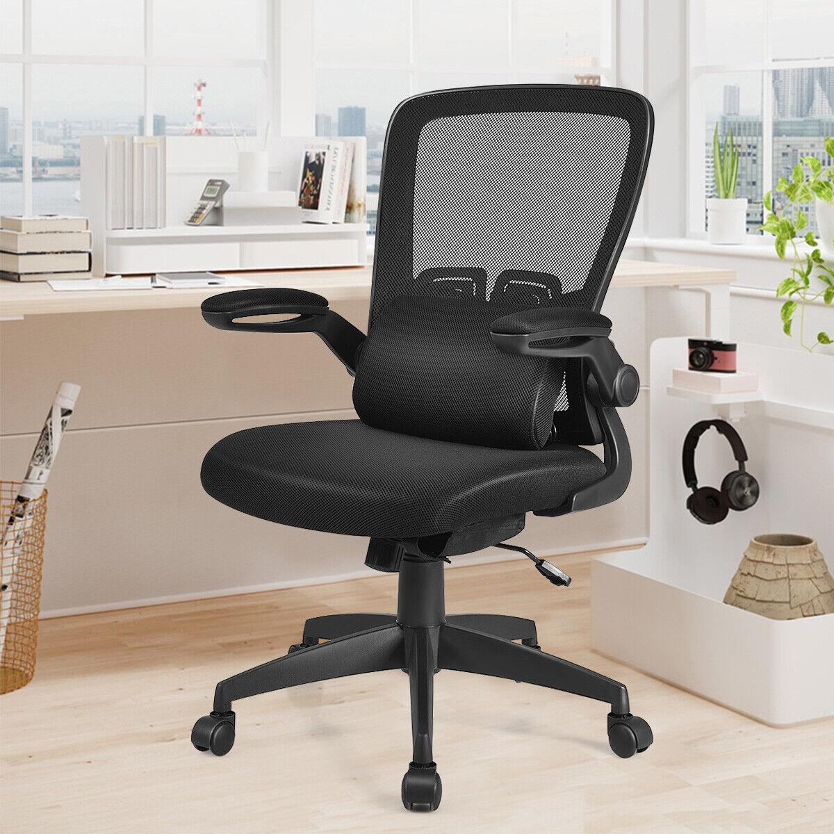 Bürostuhl Pacific Stoff mit Fußablage Schreibtischstuhl Drehstuhl Chefsessel