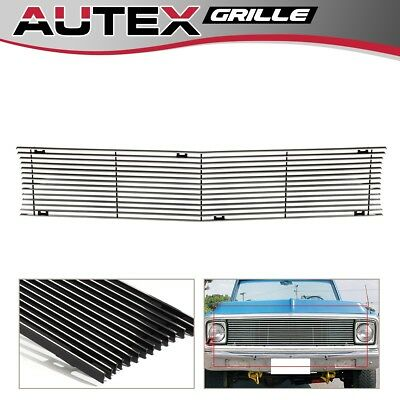 For 1969-1972 Chevy Suburban/Blazer/C/K Pickup Chrome Billet Grille - Blazer Billet Grille Replacement