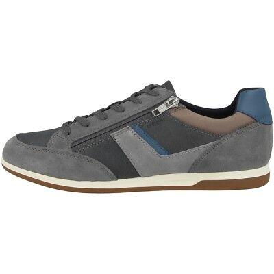 GEOX U Renan C Schuhe Herren Freizeit Sneaker Halbschuhe grey U824GC022BCC1F4W