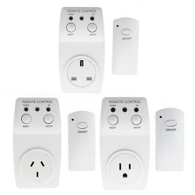 230V 10A Wireless Remote Control Smart Switch Socket Power Outlet Plug Charger