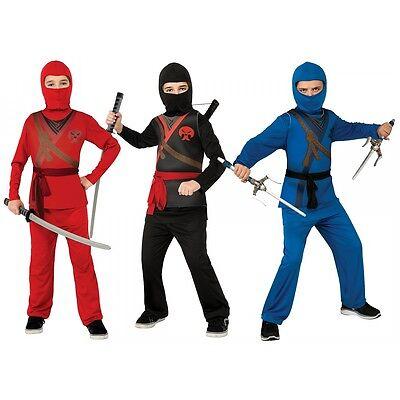 Ninja Costume Kids Halloween Fancy Dress - Ninja Costumes Kids