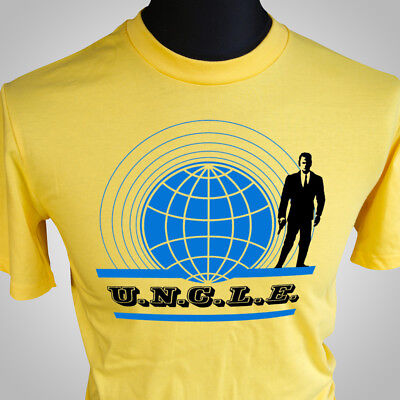 The Man From Uncle Tv Themed Retro T Shirt Spy Classic Tee Hipster