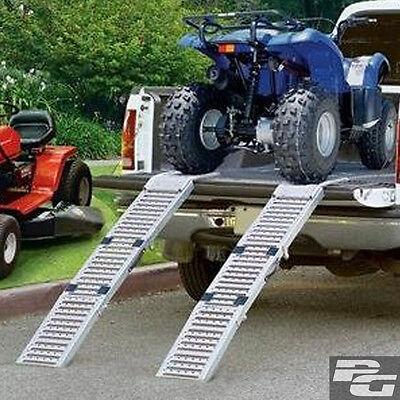 2x Auffahrrampen Motorradrampen klappbar 1600Kg Stahl