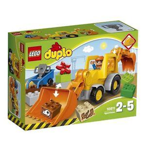 Lager1) LEGO DUPLO (10811) Backhoe loaders Digger Shovel excavator