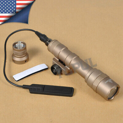 M600B Scout Light Hunting LED Weapon Light w/ Tail Switch Controller TAN Black