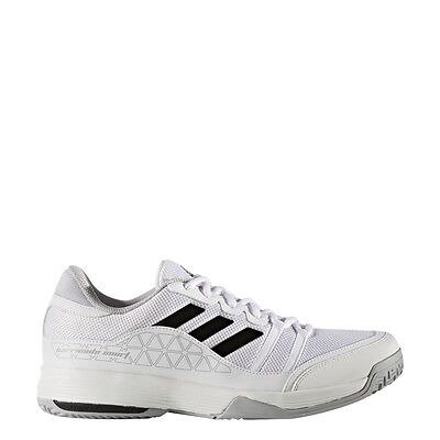 Mens Adidas Barricade Court Wide White Tennis Court Athletic Shoe Bb3363 9W 13W