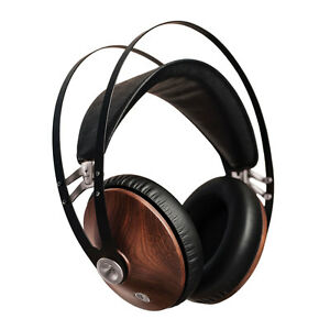 MEZE 99 Classics Over Ear Headphones Made From Walnut Wood, Walnut Silver Finish