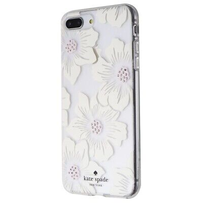 Kate Spade Flexible Hardshell Case for iPhone 8 Plus/7 Plus - Clear/White/Floral