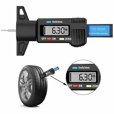 Digital Tyre Tread Depth Measuring Gauge Tool – Car Van Truck Scooter Motorbike