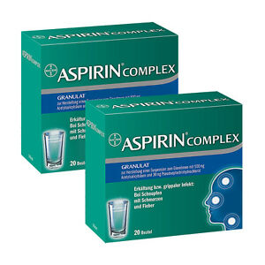 ASPIRIN COMPLEX 2x20stk PZN 08100074
