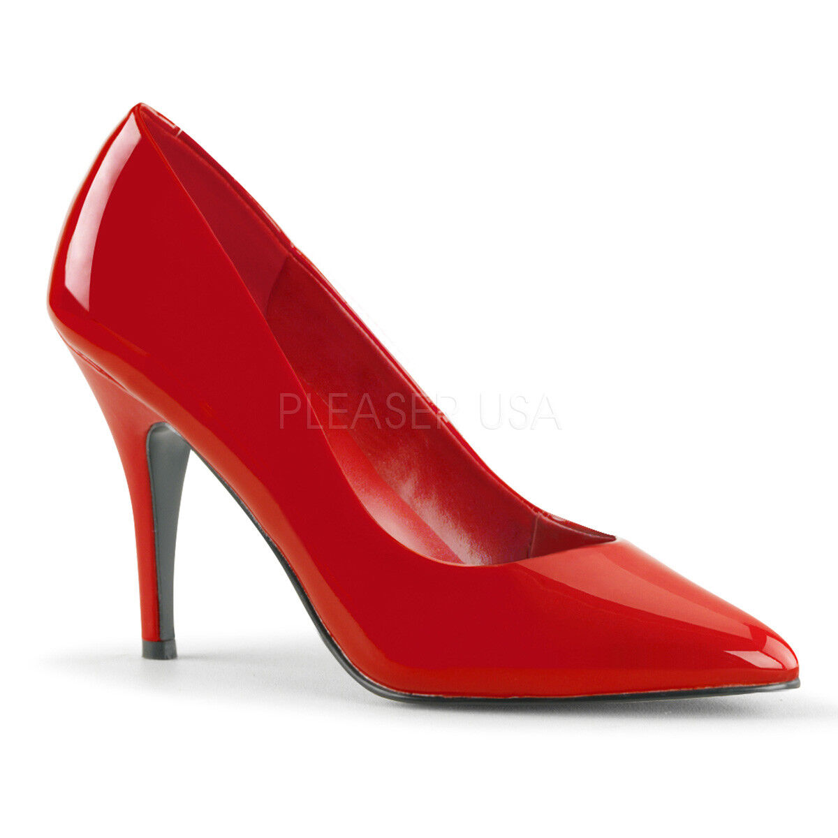 Red Stiletto Pinup High Heels Mens Drag Crossdresser Shoes Womans size 14 15 16