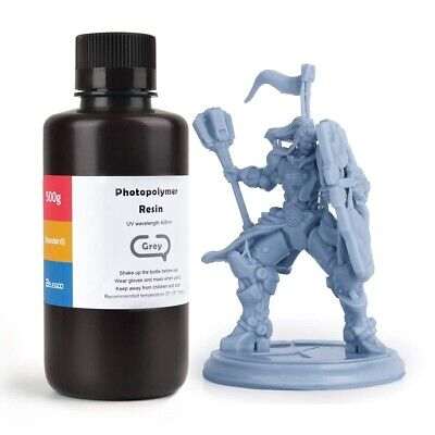 ELEGOO ABS-Like 3D Printer Rapid Resin  500Gram Grey