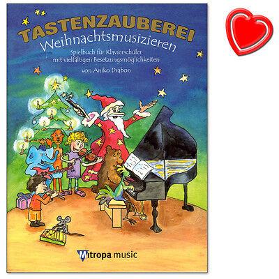 Tastenzauberei Weihnachtsmusizieren - Spielbuch für Klavier -  9789043132428