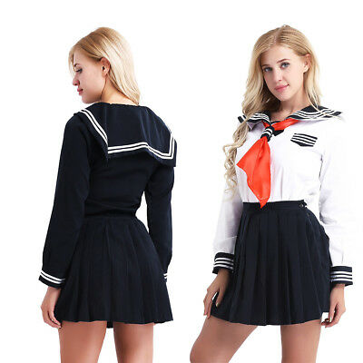 arm Schuluniform Sailor Uniform Halloween Karneval Kostüm (Halloween-kostüme Japanisch)
