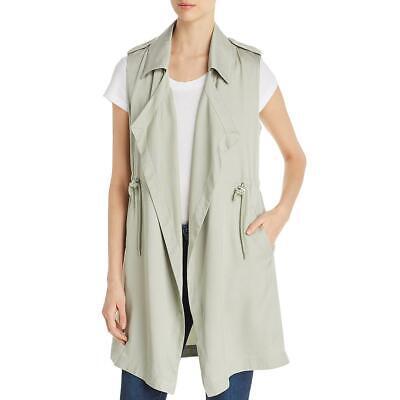 Elie Tahari Womens Serena Beige Ruffled Business Jacket Blazer 8 BHFO 3718