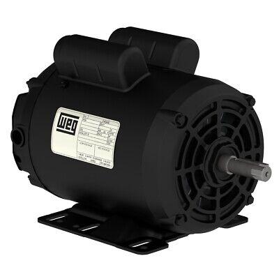 New 5hp Electric Motor For Air Compressor 56hz Frame 3455 Rpm 78 Shaft