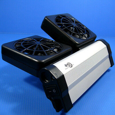 Aquarium Cooling Fan ColdWind 2 fan 51.5CFM - Chiller for Water Plants Fish Tank