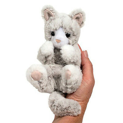 Gray Kitten (Douglas Cuddle Toys Gray Kitten Lil' Handful)