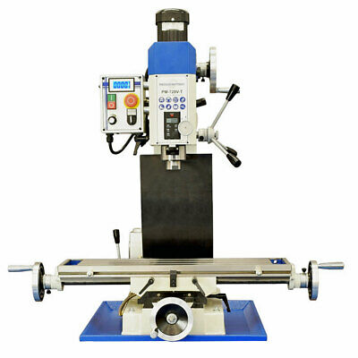 Pm-728vt Ultra Precision Bench Top Vertical Milling Machine Free Ship Taiwan