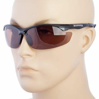 HD Fahren Wrap Sonnenbrille Golf Vision Blau Blocker Linse Hochauflösende Straße