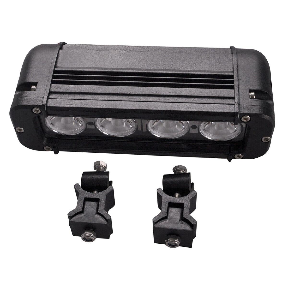 7.8inch 40W Led Spot Work Light Bar 10W Chip Offroad 4×4 Jeep Truck ATV Camper