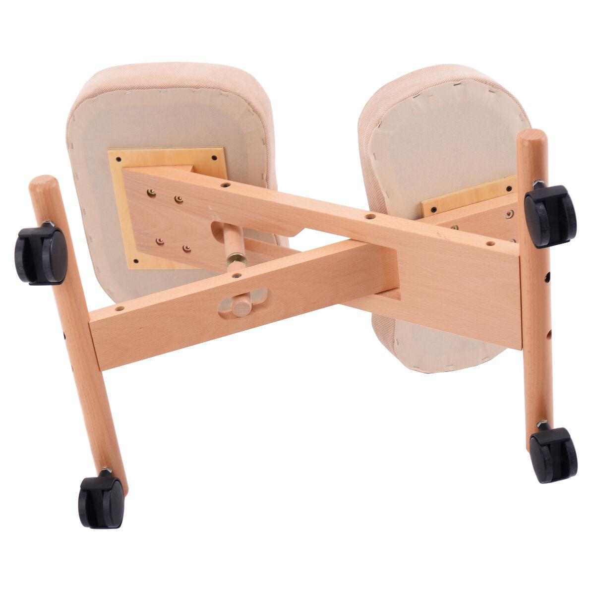 Wooden Chair Kneeling Orthopaedic Stool Ergonomic Posture