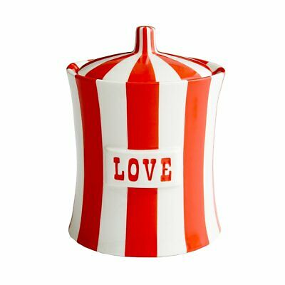 Jonathan Adler Love Vice Canister, Red