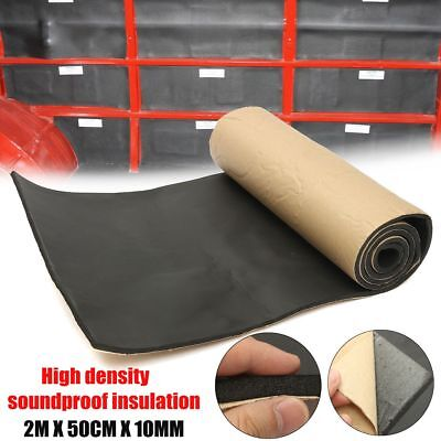 Black Flat Panel Audio (Acoustic Foam Flat Panel Studio Soundproofing Wall Panel Car Sound Control)
