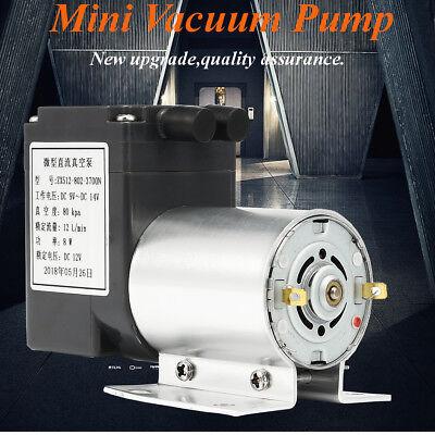 Dc12v Mini Vacuum Pump Negative Pressure Suction Pump 12lmin 120kpa W