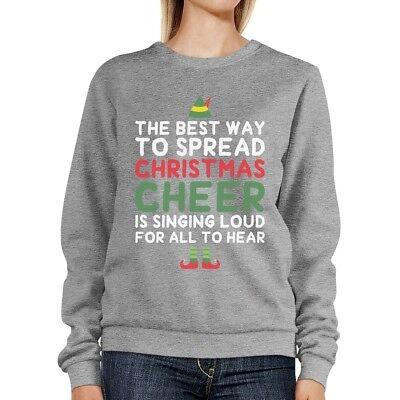 Best Way To Spread Christmas Cheer Sweatshirt Cute Fleece Sweater](Best Christmas Sweaters)