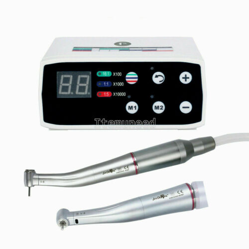Dental NSK Style Brushless LED Electric Micro Motor/ 1:5 Contra Angle Handpiece