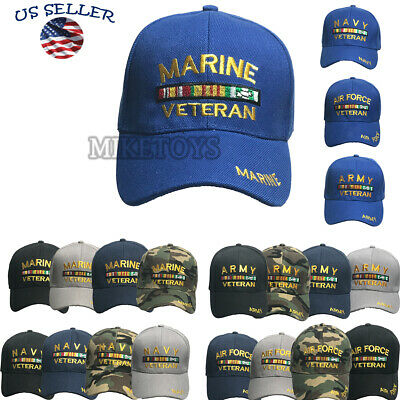 Veteran hat baseball cap Hat army marine navy air force military Brand NEW NEW..