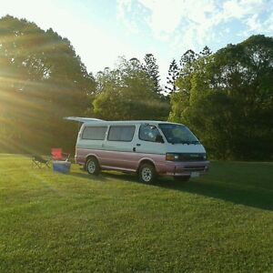 Toyota Hiace campervan for hire / rent Bulimba Brisbane South East Preview
