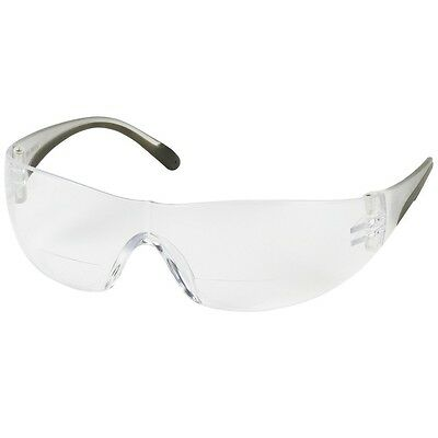 Bouton Zenon Safety Glasses with 3.0 Clear Bifocal (Safety Glasses With Bifocals)