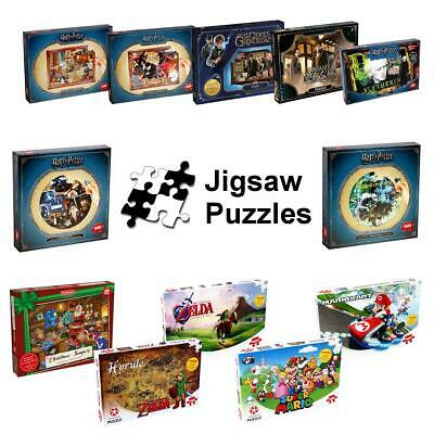 Waddingtons Jigsaw Puzzles Brand New > Harry Potter > Christmas > Mario > Zelda