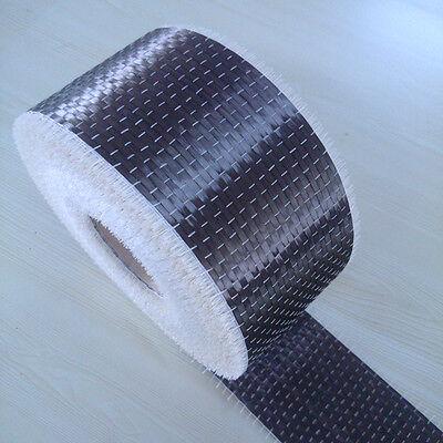 2.5gpa 200gsm 4 X 10yd Unidirectional Carbon Fiber Cloth Fabric Tap 5.9oz