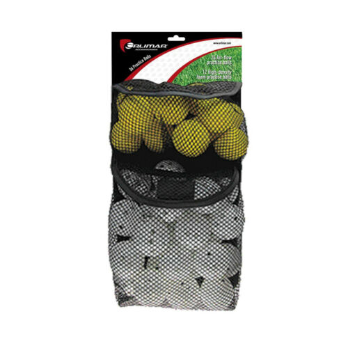Orlimar 36 Practice Balls (24 with Holes, 12 Foam) OR07229