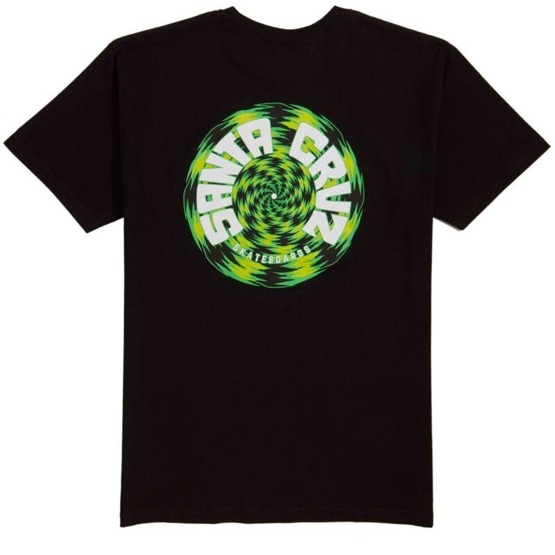 Santa Cruz TORTILE Skateboard T Shirt BLACK XXL