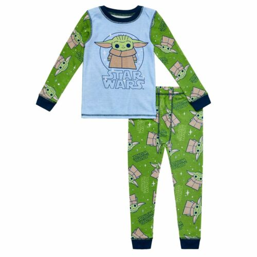 NWT Cuddl Duds Baby Yoda Thermal Underwear Base Layer Toddler Boy 2T 3T 4T 5T
